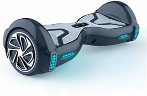 TOMOLOO Hoverboard With LED lights tires